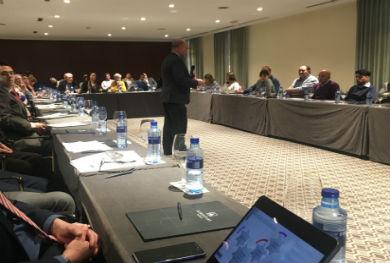 """""""MI4 Global Solutions"""" se presenta ante los promotores internacionales de Asturex."""