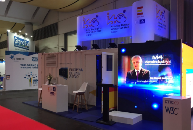 MetaIndustry4 participated actively in Hannover Messe 2019